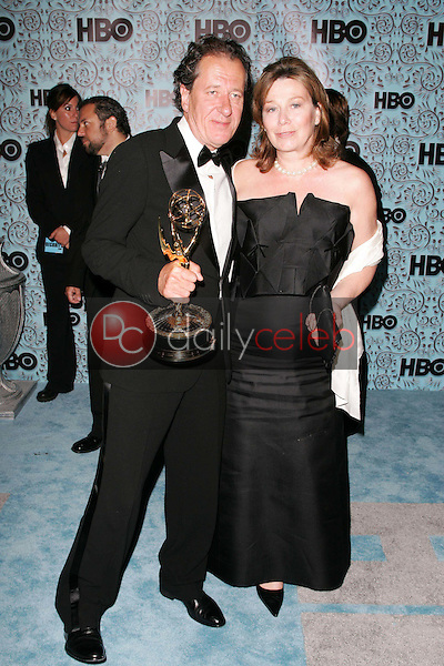Geoffrey Rush and Jane Menelaus<br />
