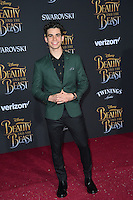 Cameron Boyce at the premiere for Disney's &quot;Beauty and the Beast&quot; at El Capitan Theatre, Hollywood. Los Angeles, USA 02 March  2017<br /> Picture: Paul Smith/Featureflash/SilverHub 0208 004 5359 sales@silverhubmedia.com