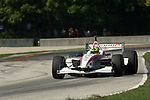 12 August 2007: Bruno Junqueira (BRA) at the Champ Car Generac Grand Prix at Road America, Elkahart Lake, WI.