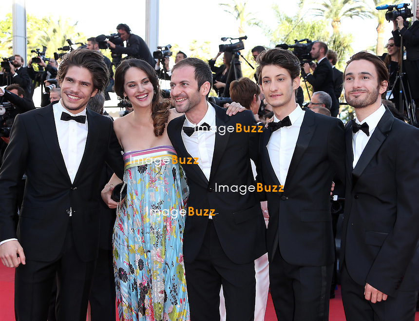 PE/Actor Pierre Niney attends the 'Blood Ties' Premiere during the 66th Annual Cannes Film Festival at Grand Theatre Lumiere on May 20, 2013 in Cannes, France.