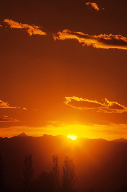Sunset, Boulder, Colorado
