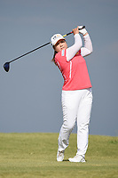 Inbee Park (KOR) watches her tee shot on 2 during round 4 of the Volunteers of America Texas Classic, the Old American Golf Club, The Colony, Texas, USA. 10/6/2019.<br /> Picture: Golffile | Ken Murray<br /> <br /> <br /> All photo usage must carry mandatory copyright credit (© Golffile | Ken Murray)