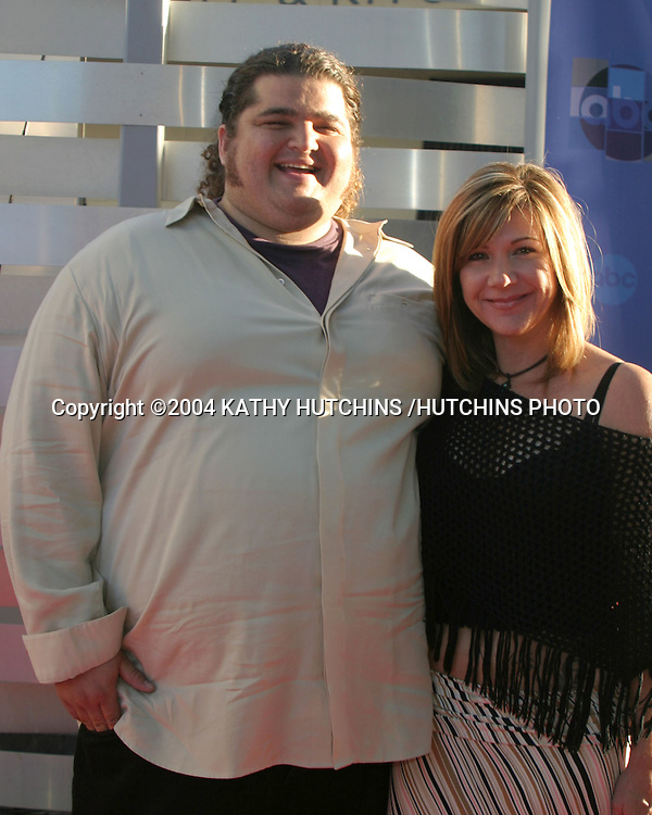 ©2004 KATHY HUTCHINS /HUTCHINS PHOTO.ABC TELEVISION CRITICS ASSOC TOUR.CENTURY CITY, CA.JUNE 12, 2004..JORGE GARCIA AND DATE