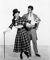 Gigi (1958) <br /> Promo shot of Leslie Caron &amp; Louis Jourdan<br /> *Filmstill - Editorial Use Only*<br /> CAP/MFS<br /> Image supplied by Capital Pictures