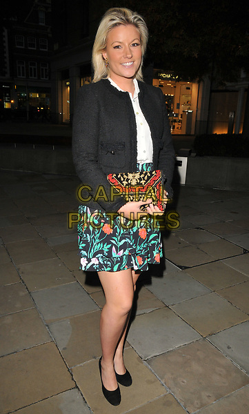 Natalie Rushdie at the Philip Colbert New Paintings private view, Saatchi Gallery, King's Road, London, England, UK, on Monday 02 October 2017.<br /> CAP/CAN<br /> &copy;CAN/Capital Pictures