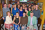 Donal Considine, Killarney, pictured with family and friends as he celebrated his 30th birthday in Corkerys Bar, Killarney on Saturday night..