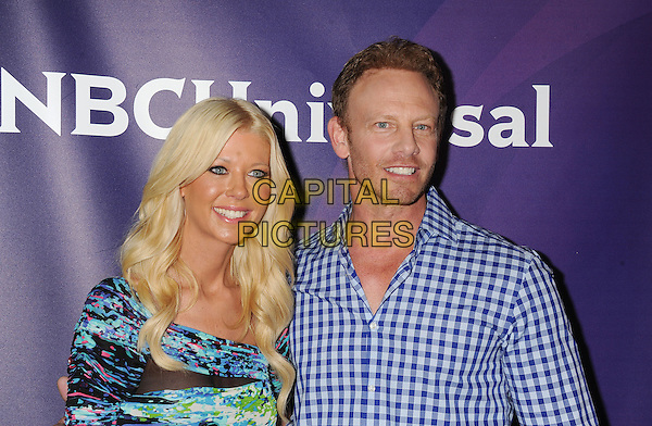 BEVERLY HILLS, CA- JULY 14: Actors Tara Reid (L) and Ian Ziering attend the 2014 Television Critics Association Summer Press Tour - NBCUniversal - Day 2 held at the Beverly Hilton Hotel on July 14, 2014 in Beverly Hills, California.<br /> CAP/ROT/TM<br /> &copy;Tony Michaels/Roth Stock/Capital Pictures