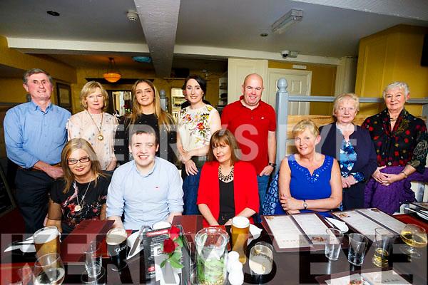 Enjoying the Walsh Brothers shoe Shop Social at the Brogue Inn on Saturday