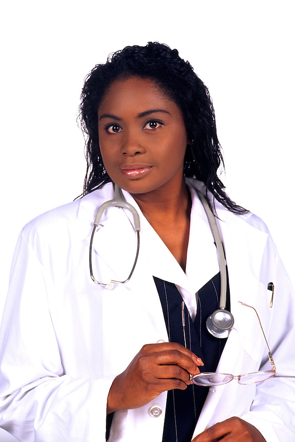 Black professional woman Doctor
