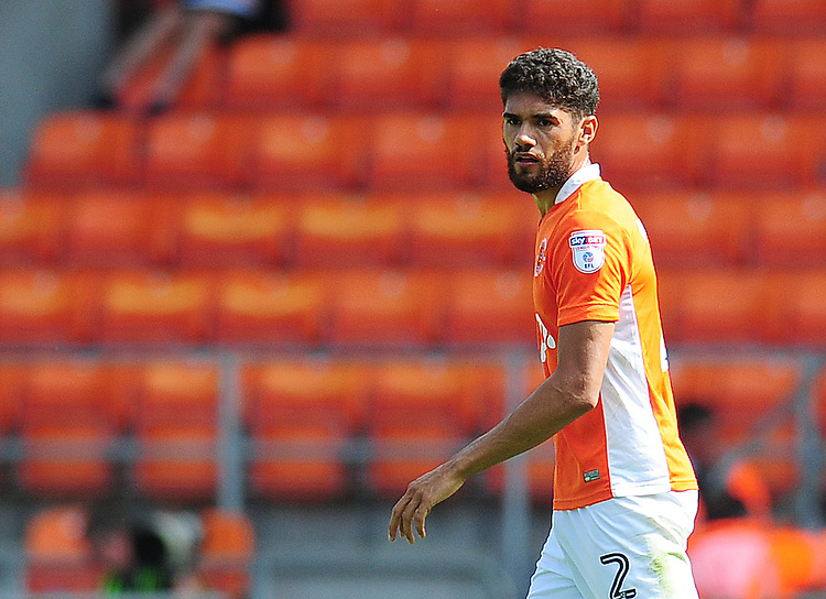 Blackpool's Kelvin Mellor<br /> <br /> Photographer Kevin Barnes/CameraSport<br /> <br /> Football - The EFL Sky Bet League Two - Blackpool v Exeter City - Saturday 6th August 2016 - Bloomfield Road - Blackpool<br /> <br /> World Copyright © 2016 CameraSport. All rights reserved. 43 Linden Ave. Countesthorpe. Leicester. England. LE8 5PG - Tel: +44 (0) 116 277 4147 - admin@camerasport.com - www.camerasport.com