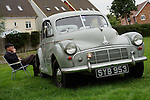 Morris Minor car made in Great Britain in 1953 with split screen