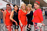 Listowel Races : Attending ladies day at Listowel Races on Sunday last were Marina Burke, Allison Lynd, Ain Scannell, Caoimhe Scannell & Raylene Belle.