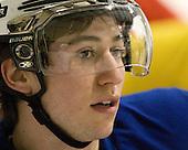 Tyler Johnson (USA - 10) - Team USA practiced at the Agriplace rink on Monday, December 28, 2009, in Saskatoon, Saskatchewan, during the 2010 World Juniors tournament.