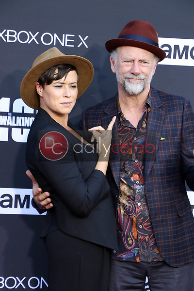 Briana Venskus, Xander Berkeley<br />