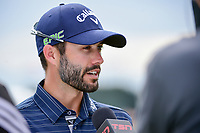Adam Hadwin (CAN) during post round interview following  Saturday's round 3 of the 117th U.S. Open, at Erin Hills, Erin, Wisconsin. 6/17/2017.<br /> Picture: Golffile | Ken Murray<br /> <br /> <br /> All photo usage must carry mandatory copyright credit (&copy; Golffile | Ken Murray)