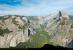 Half Dome and Tenaya Canyon in Autumn, Glacier Point, Yosemite National Park