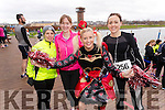 Rose Brosnan, Deirdre O'Connor, Marilyn O'Shea and Catherina Ross, all from Tralee, who took part in the Valentines 10 mile road race in Tralee, on Sunday morning last.