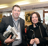 Cllr Niall Kelliher and Moira Murrell, Kerry County Manager pictured  at the National Tourism Forum in The Muckross Park Hotel, Killarney at the weekend. <br /> Over 200 delegates from all over Ireland attend the inaugural event which was addressed by national and international speakers.<br /> Photo: Don MacMonagle<br /> <br /> Repro free photo