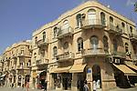 Israel, Jerusalem, Yaffo street in Jerisalem