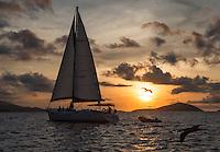Cloud 9 sunset sailing<br /> St. John<br /> U.S. Virgin Islands