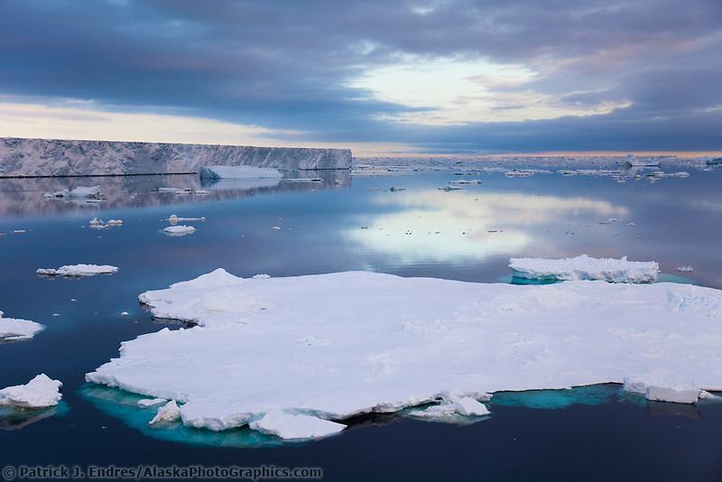 Large tabular iceberg near Paulet Island, Antarctic Peninsula.