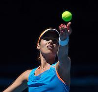 ANA IVANOVIC<br /> <br /> Tennis - Australian Open - Grand Slam -  Melbourne Park -  2014 -  Melbourne - Australia  - 13th January 2013. <br /> <br /> &copy; AMN IMAGES, 1A.12B Victoria Road, Bellevue Hill, NSW 2023, Australia<br /> Tel - +61 433 754 488<br /> <br /> mike@tennisphotonet.com<br /> www.amnimages.com<br /> <br /> International Tennis Photo Agency - AMN Images
