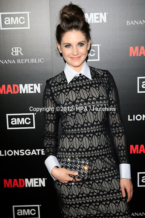 """LOS ANGELES - MAR 14:  Alison Brie arrives at the """"Mad Men"""" Season 5 Premiere Screening at the ArcLight Theaters on March 14, 2012 in Los Angeles, CA"""