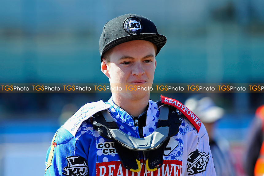 Brady Kurtz of Poole Pirates  during Poole Pirates vs Swindon Robins, Elite League Speedway at The Stadium on 25th March 2016