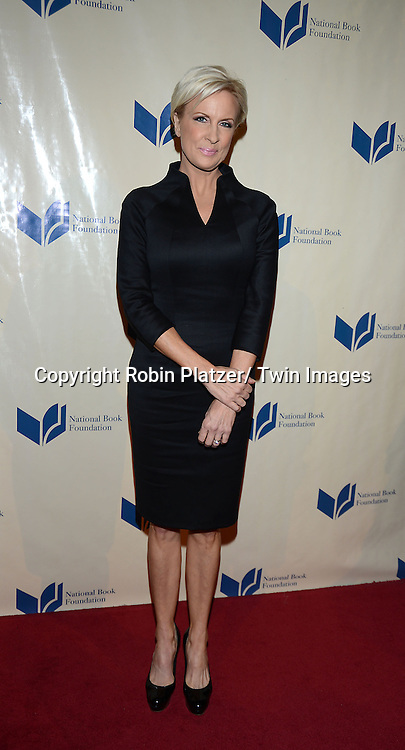 Mika Brzezinski attends the 2013 National Book Awards Dinner and Ceremony on November 20, 2013 at Cipriani Wall Street in New York City.