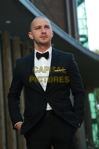 Shia Labeouf at the premiere of Man Down at the 2015 Venice Film Festival.<br /> September 6, 2015  Venice, Italy<br /> CAP/KA<br /> &copy;Kristina Afanasyeva/Capital Pictures