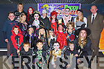 COSTEUMS: Dressed in their Halloween Costeums on Friday at5 their school Flemby NS, Ballymacelligott, were teachers and pupils, pupils were: Cormac Costello, Allan Fazilov, Sandra Marshall, Paivi Dowds, Liam McMahon, Sofia Dowds, Da?ire McGovern,Michaela Marshall, Laura O'Shea, Edele Browne, Alfred Fazilov, James McMahon, Snejana Herbert, Violetta Sik, Amanda Goldberga,Charlotte Browne, Paddy O'Donnell and Sandra O'Shea, Teachers Maurice Laide (principal), Mary Brosnan and Katie Dowling.......... ..........