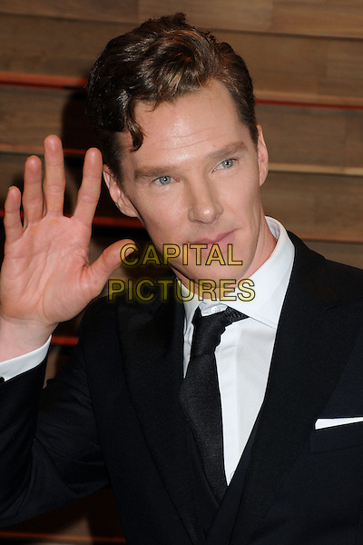 02 March 2014 - West Hollywood, California - Benedict Cumberbatch. 2014 Vanity Fair Oscar Party following the 86th Academy Awards held at Sunset Plaza.  <br /> CAP/ADM/BP<br /> &copy;Byron Purvis/AdMedia/Capital Pictures