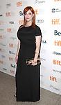 Christina Hendricks attending the The 2012 Toronto International Film Festival.Red Carpet Arrivals for 'Ginger And Rosa' at the Elgin Theatre in Toronto on 9/7/2012