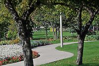 Centennial Park flower garden