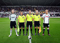 ATTENTION SPORTS PICTURE DESK<br /> Pictured:<br /> Re: Carling Cup 2nd Round, Swansea City Football Club v Scunthorpe United at the Liberty Stadium, Swansea, south Wales. Tuesday 25 August 2009<br /> Picture by D Legakis Photography / Athena Picture Agency, 24 Belgrave Court, Swansea, SA1 4PY, 07815441513