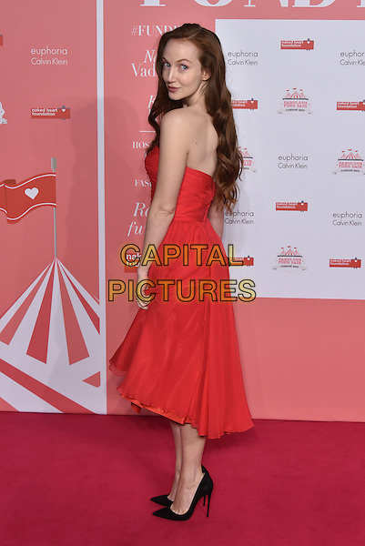 Olivia Grant<br /> arrivals at London's Fabulous Fund Fair 2016 in aid of the Naked Heart Foundation at Old Billingsgate Market on 20th February 2016.<br /> CAP/PL<br /> &copy;Phil Loftus/Capital Pictures