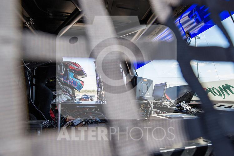 Dutch driver Erwin Klein Nagelvoort belonging Dutch team Erwin Klein Nagelvoort  during the fist race R1 of the XXX Spain GP Camion of the FIA European Truck Racing Championship 2016 in Madrid. October 01, 2016. (ALTERPHOTOS/Rodrigo Jimenez)