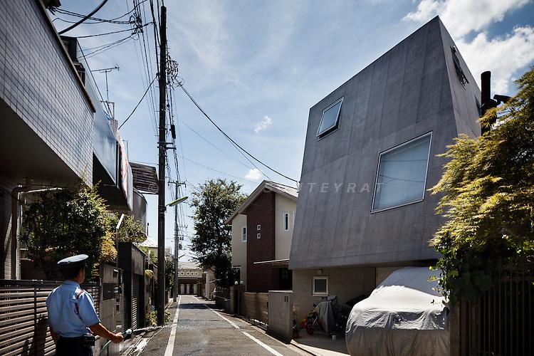 Tokyo, September 2 2010 - Sakuragaoka House by Nissyo Kogyo.
