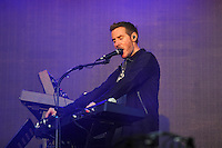 LONDON, ENGLAND - JULY1: Robert Del Naja of 'Massive Attack' performing at British Summertime, Hyde Park on July 1, 2016 in London, England.<br /> CAP/MAR<br /> &copy;MAR/Capital Pictures /MediaPunch ***NORTH AND SOUTH AMERICAS ONLY***