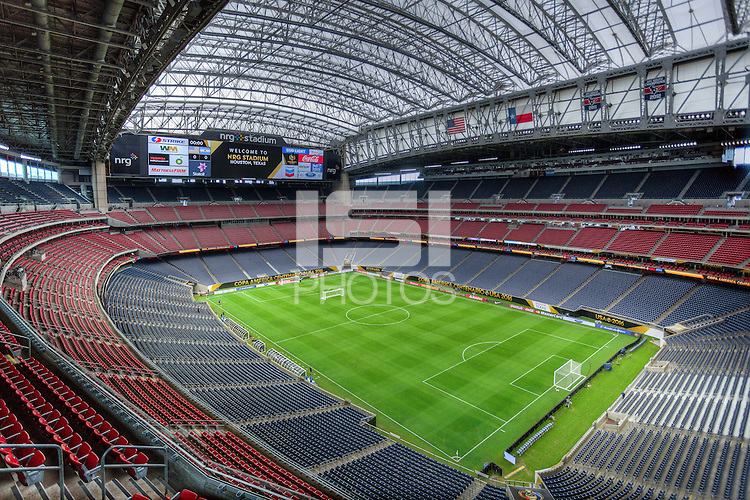 Houston, TX - June 20, 2016: The USMNT train in preparation for their 2016 Copa America Centenario Semifinal match versus Argentina at  NRG Stadium.