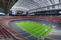 Houston, TX - June 20, 2016: The USMNT train in preparation for their 2016 Copa America Centenario Semifinal match versus Argentina at  NRG Stadium.