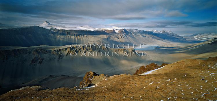 Asgard Range. Wright Valley in the Dry Valleys. Antarctica.