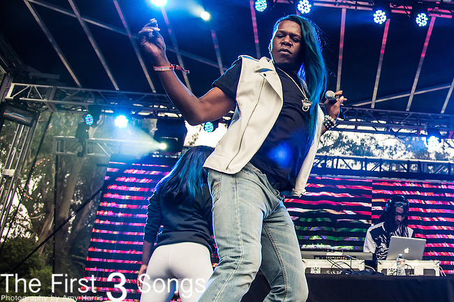 Big Freedia performs at the Outside Lands Music & Art Festival at Golden Gate Park in San Francisco, California.