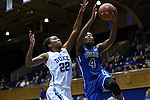 26 October 2014: Sierra Calhoun (4) and Oderah Chidom (22). The Duke University Blue Devils held their annual Blue-White Game at Cameron Indoor Stadium in Durham, North Carolina in preparation of the upcoming 2014-15 NCAA Division I Women's Basketball season.