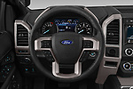 Car pictures of steering wheel view of a 2019 Ford Expedition XLT 5 Door SUV Steering Wheel