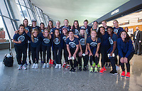 USWNT Travel, July 27, 2016