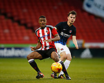 Sam Graham of Sheffield Utd during the U18 Professional Development League 2 play off semi final match at  Bramall Lane, Sheffield. Picture date: April 21st 2017. Pic credit should read: Simon Bellis/Sportimage