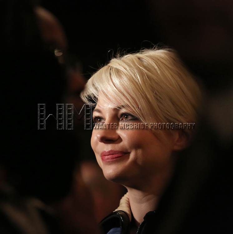 Michelle Williams attending the Broadway Opening Night After Party for 'Cabaret' at Studio 54 on April 24, 2014 in New York City.