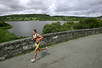 05 JUN 2005 - BALA, NORTH WALES, UK - Peter Kern - British Middle Distance Triathlon Championships. (PHOTO (C) NIGEL FARROW)