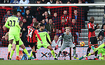 Bournemouth's Ryan Fraser scoring his sides third goal during the Premier League match at the Vitality Stadium, London. Picture date December 4th, 2016 Pic David Klein/Sportimage